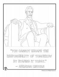 lincoln coloring pages abraham lincoln printables woo jr kids activities