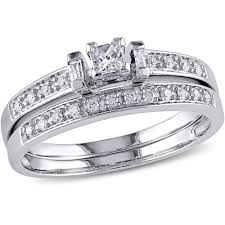 wedding rings at walmart miabella 1 7 8 carat t g w white sapphire sterling silver