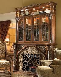 aico furniture villa valencia fireplace with media wall ai 7222