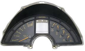 corvette instrument cluster repair taber corvette parts dash clusters