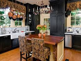 captivating country kitchen with traditional decor and distressed