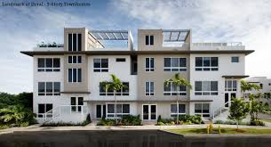 landmark at doral 3 story townhomes property in usa homes in