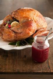 check out roasted turkey with maple cranberry glaze recipe by