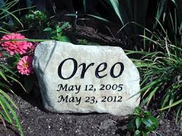 personalized memorial garden stones and engraved river rock garden