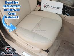 cadillac escalade replacement parts 2009 2014 cadillac escalade leather seat cover driver bottom