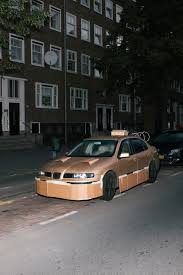 ricer car yo dawg we pimped your car with cardboard wired