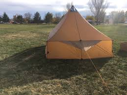 Wall Tent by Courthouse Packable Lightweight Wall Tent