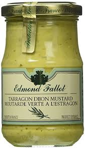 gourmet mustard edmond fallot tarragon dijon mustard 7 4 oz taragon