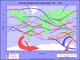 Map 0f America by Nasa Total Solar Eclipse Of 2024 Apr 08