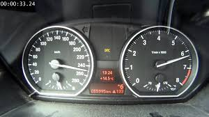 bmw speedometer bmw 135i timed 0 max speedo on the autobahn