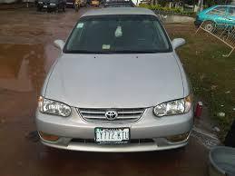 Toyota Corolla 2001 S Super Clean Registered Toyota Corolla S 2002 Model For Sale