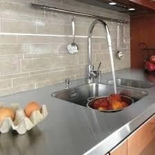 plan de travail cuisine en zinc plan de travail en zinc gallery of awesome un plan de travail en
