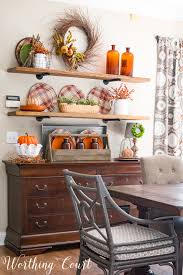 these are my most favorite fall kitchen shelves ever worthing court
