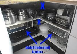 Kitchen Corner Cabinets Open Up The Kitchen Corner Cabinet