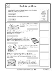 free printable 5th grade math worksheets word lists and
