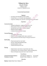 General Laborer Resume Click Here To Download This Project Coordinator Resume Template