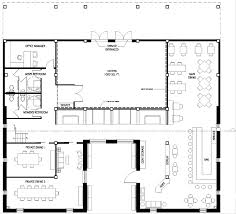 Floor Plan For A Restaurant by Fast Food Restaurant Floor Plan With Inspiration Design 23560