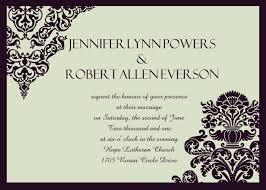 wedding invitation damask black and grey wedding invitations iwi292 wedding