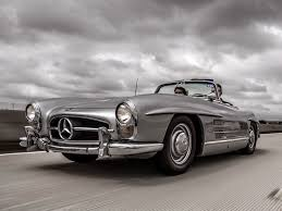 1957 mercedes 300sl roadster based on the original gullwing coupe the mercedes 300sl