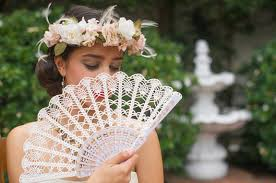 held fan wedding lace fan held fan handmade lace fan folding