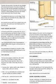 2945 kitchen dresser plans furniture plans cabinet pinterest