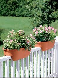 Banisters Flowers Deck Rail Planters Deck Railing Planters Gardener U0027s Supply