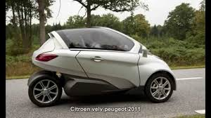 peugeot cars 2011 1596 citroen velv peugeot 2011 prototype car youtube