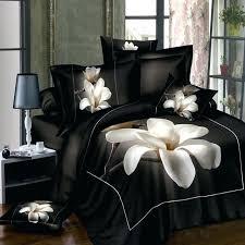 black cotton duvet covers black and white stripe duvet cover black