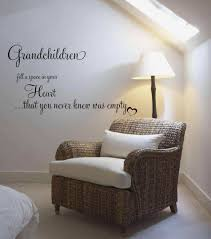 grandchildren fill a space in your heart quote wall decals wall space in your heart quote wall decals
