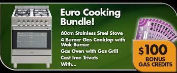 Euro Cooktops Euro Gas Stove Lpg Bundle Sale