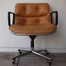 fauteuil bureau knoll pollock charles knoll fauteuil de bureau vers 1970 coque en