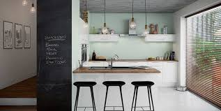 kitchen design tips make a feature wall using a chalkboard