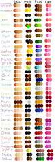 the 25 best skin color chart ideas on pinterest makeup guide