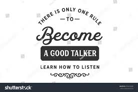 one rule there only one rule become good stock vector 629623586 shutterstock