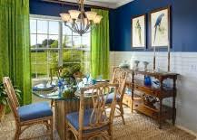 Green And Blue Kitchen Blue Dining Rooms 18 Exquisite Inspirations Design Tips