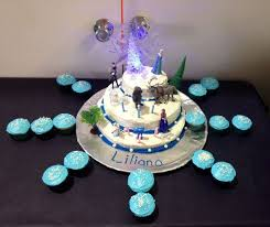 69 frozen party cake images frozen party