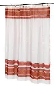 Burgandy Shower Curtain Carnation Home Fashions Inc Fabric Shower Curtains
