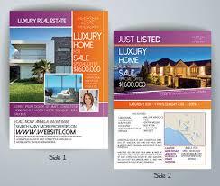 luxury real estate flyer template flyerforu com