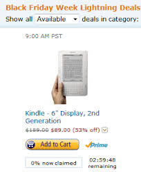kindle paperwhite sale black friday black friday