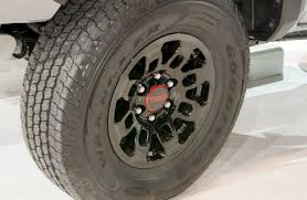 toyota tacoma tire size 2017 toyota tacoma trd pro release date mpg and review