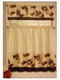 Coffee Themed Curtains Coffee Kitchen Curtains Trendy Coffee Curtains For Kitchen For