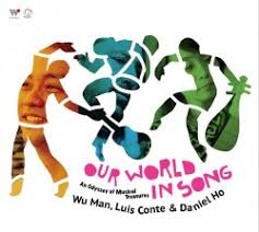wu performs folk from around the world with luis conte and