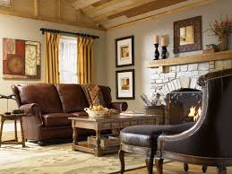 Living Room Wooden Furniture Sofas Modern Country Living Room Wooden Shelves Multicolors Cushions