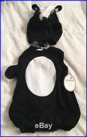Skunk Halloween Costumes Pottery Barn Kids Skunk Halloween Costume Unisex Size 12 24 Months