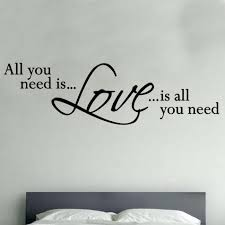 28 all you need is love wall sticker all you need is love all you need is love wall sticker all you need is love quote decal vinyl wall