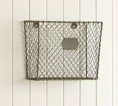 Wire Mesh Desk Accessories Wire Mesh Wall Mount Magazine Rack Eclectic Desk Accessories