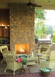 Our Favorite Outdoor Rooms - 140 best outdoor fireplace firepit images on pinterest gardens