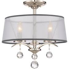 Semi Flush Mount Quoizel Lighting Whi1716is Shipped Direct