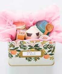 Relaxation Gift Basket 7 Diy Spa Gifts For Mom Real Simple
