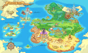 Fantasy World Maps by 113211 Fantasy Life Ldscp World Map Jpg 1170 702 Fantasy Life